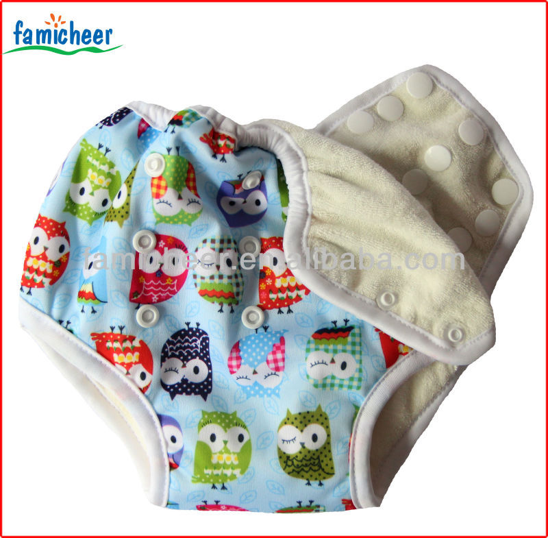 Famicheer Reusable Side Snap Potty Toddler Training Pants