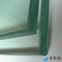 19mm thick glass tempered cost, tempered toughened glass rate, strenghened glass factory