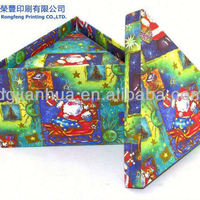 Christmas Transparent Window Design Paper Box