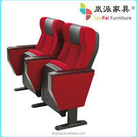 hall fabric Cinema chair/popular fabric chair/ high quality theater seat L-A08