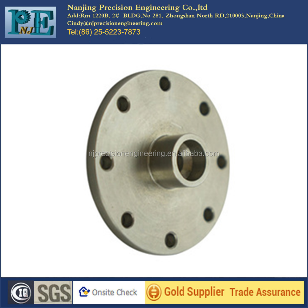 Manufacturer supply custom cnc machining stainless steel flange