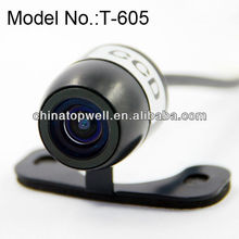 Promotion Mini Butterfly IP68 Waterproof Color HD CMOS Sensor 170 Degree Car Camera,with built-in distance guide lines