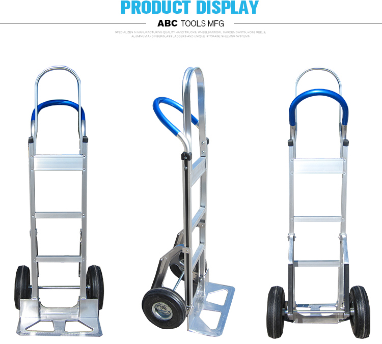 Warehouse 24 lbs convenient security multi-purpose hand trolley prices