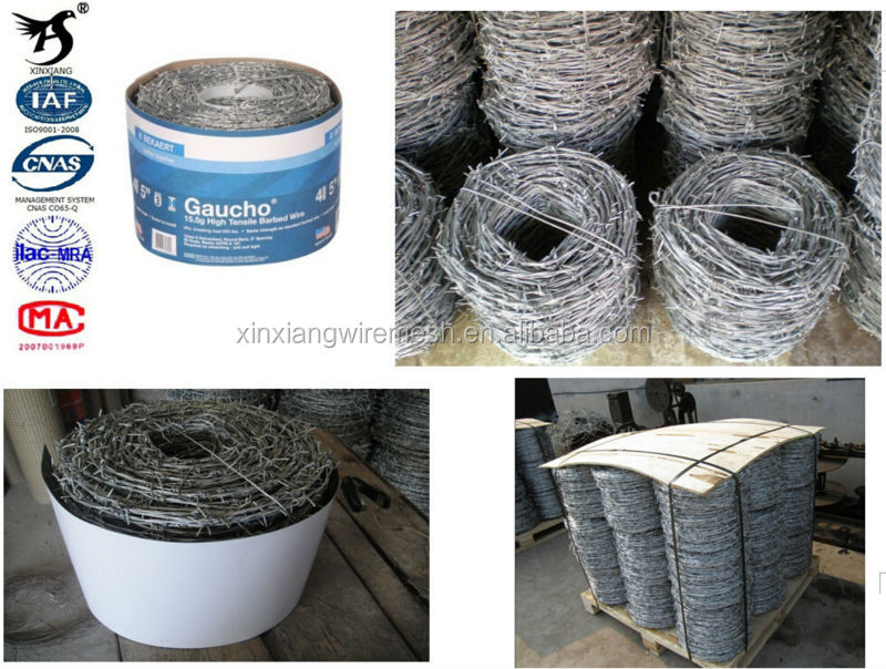 Anping Cheap decorate galvanized barbed wire price per roll