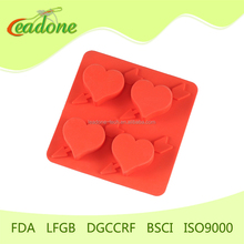 2014 Factory custom design letter shape ice cube tray