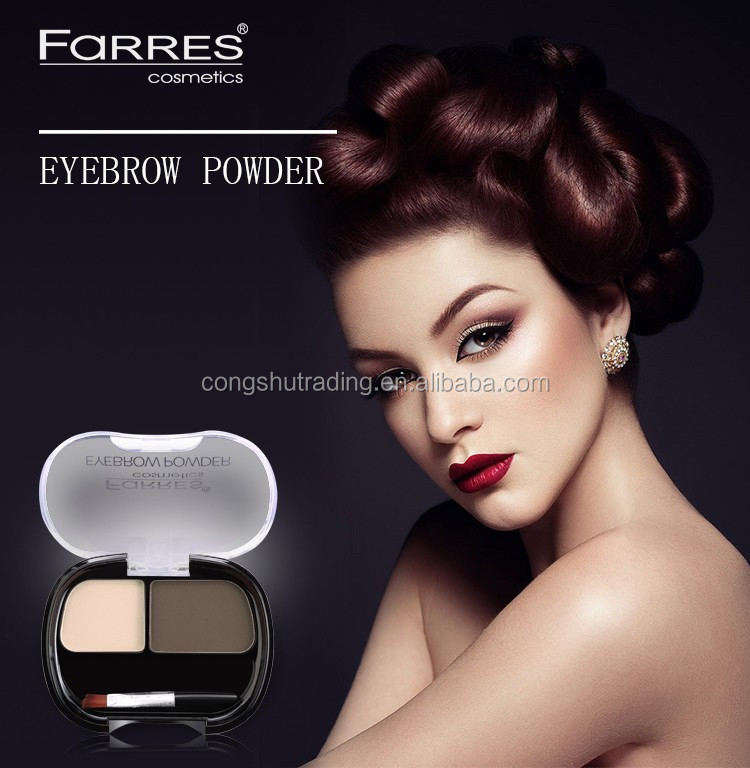 Farrres naked makeup make up eye shadow with black diamond pigments