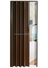 New color design 2017 PVC folding door for kitchen