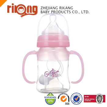 Non-toxic Silicone Infant Feeding Bottle