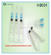 1ml 2ml 3ml 5ml 10ml 20ml disposable syringe with needle