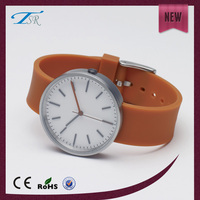 2016 Mens soft healthy silicone wristband new luxury watch