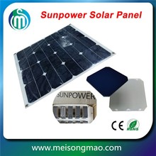 Solar power kit panel solar 24V 250W flexible crystal silicon solar panel