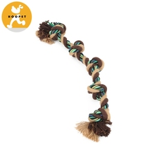 Wholesale Cotton Dental Teaser Puppy Pet Chew Rope Toy Dog Teeth Cleaning Toy