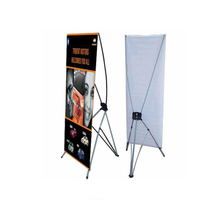 Classical Advertising Display Outdoor Windproof Waterbase Frame X Banner Flags