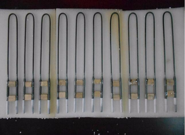Laboratory Furnace U Type Molybdenum Disilicide MoSi2 Heating Element Heater for Furnace Heating