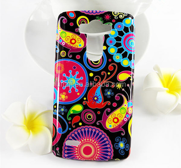 Hot Selling Printing Soft Flexible Back Case Cover For LG G3, Universal Silicone Phone Case For LG G3
