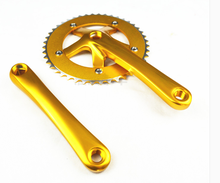 colorful fixed gear bike bicycle chainwheel chain wheel 42t alloy crankset china chainwhel factory