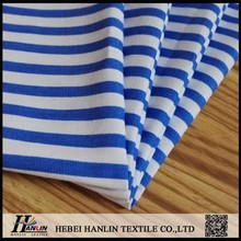 165gsm 21s*21s 100*52 blue stripe hospital fabric for medical patient clothes