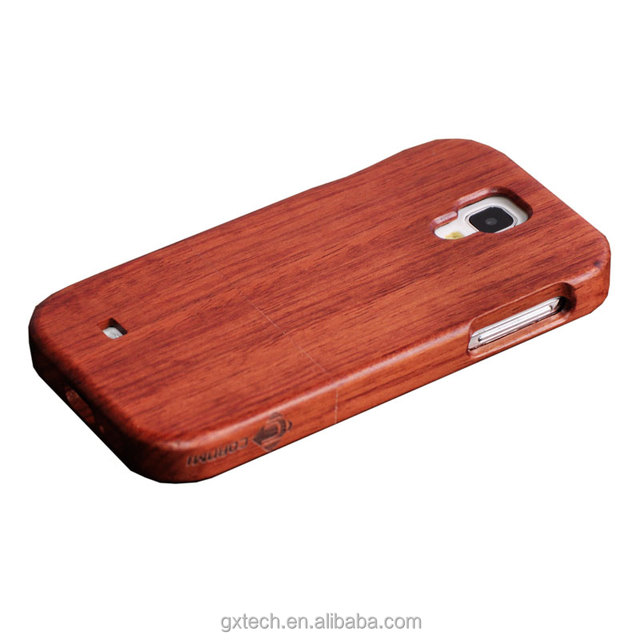 Hot selling wooden case for Samsung s4, protective case mobile phone shell
