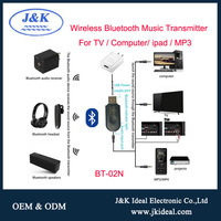 BT-02N Bluetooth 4.2 wireless usb transmitter for 3.5mm jack