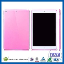 C&T Hot Selling New Skin plain tpu case for ipad pro cover
