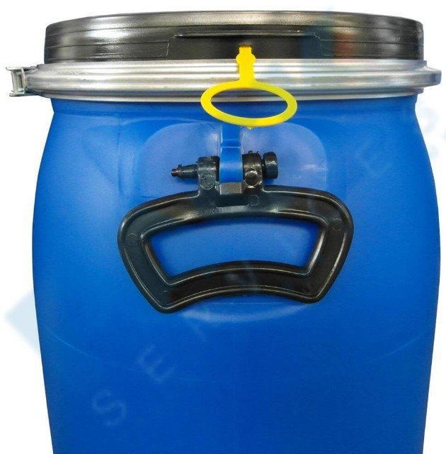 200l HDPE 55 Gallon Blue Plastic Drum With Small Open Top Food Grade