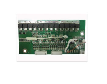 li ion battery communication pcb manufacturer/ 12S communication bms 30a pcm for li ion/lipo/lifepo4 battery pack