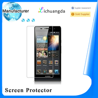 2014 best quality! Premium huawei s720 tempered glass screen protector