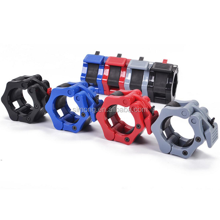 Weight Bar Collars Standard Locking Barbell Lock Clamp Collars