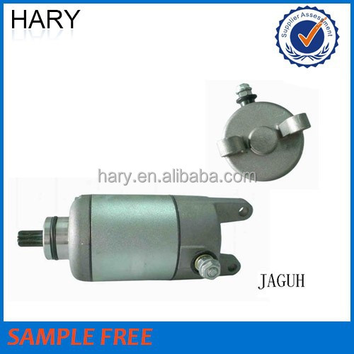 Hot sale motorcycle starter motor for JAGUH