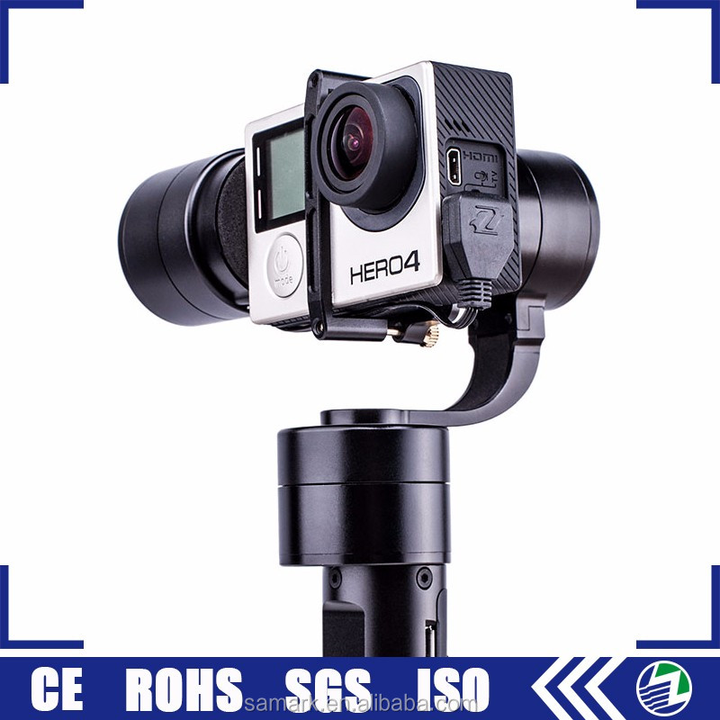 High quality zhiyun z1-evolution 3-axis used action camera handheld gimbal