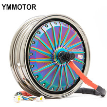 13 Inch 72V Two Wheels Electric Motorcycle Brushless Electric Hub Motor 5000W