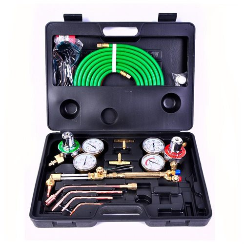 UWELD Medium Duty Gas Welding Cutting Kit Oxy Acetylene Oxygen Torch