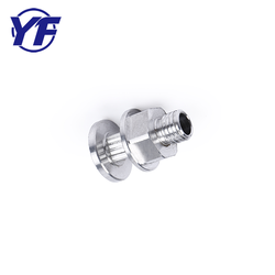 Alibaba China Manufacture Glass Spacer Stainless Steel Aluminum M8 LED Hex Standoff Screw