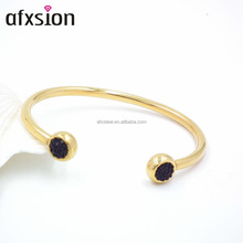 "Fashion Jewelry Wholesale!! 2016 NEW Stainless Steel Bracelet Gold ""C"" Type Bangle for Women"