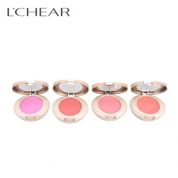 LCHEAR brand Professional conveys beauty mineral waterproof compact powder multi color best face make up makeup blusher