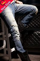 men branded strect jeans paint for pants