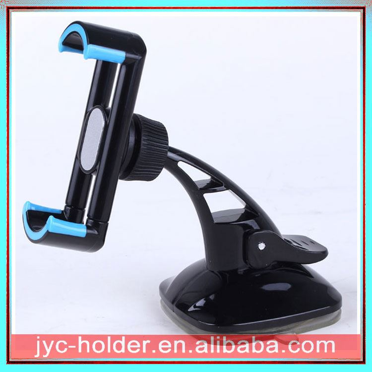 cell phone stand , JH034 silicone sucker android robot mobile phone holder