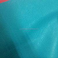 Hot sell synthetic PU and PVC leather material with brush backing and soft hand-feeling