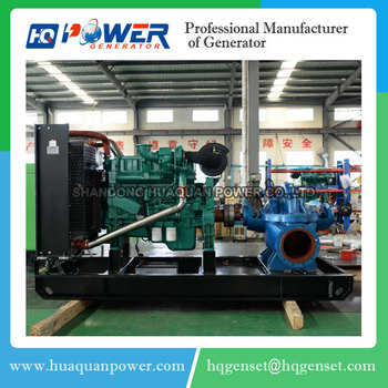 new design big power 300kw water puming diesel generator