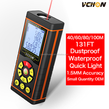 2016 VCHON USB Interface Mini Digital 40m 60m 80m 100m measurment any analysis instrument Laser Distance Meter