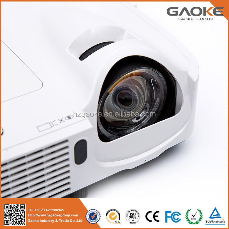 Competitive price 1920*720 resolution mobile multimedia laser short throw projector