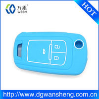 2013 hot sale silicon car key covers/OEM portable silicone rubber car key covers