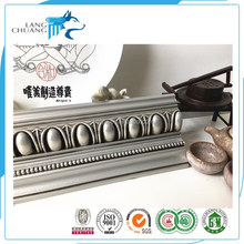 Simple Home Interior Ceiling Decoration Polyurethane PU Cornice Moulding