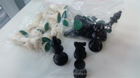 chess&checker game type plastic chess pieces