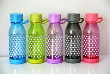 Popular promotional plain plastic water bottles