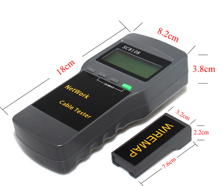 SC-8108 Portable Wireless Network Cable Tester