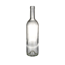 Empty Blue Glass Bottle 750Ml Round White Wine In Blue Bottle Manufacturer