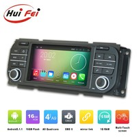 Huifei Quad Core Android 5.1.1 Mirror Link In-Dash Multimedia Navigation for jeep liberty car dvd gps