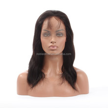7A quality black women 100 virgin chinese full lace wig,wholesale cheap human hair full lace wig