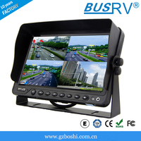 10.1 inch tft lcd car rear view monitor with stand and sunshade